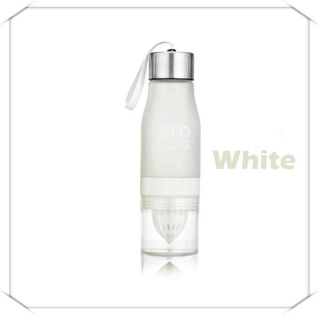 Cheapest and Best Reviews for Eco Friendly Infusion Water Bottle (650ML) 0.65L / White at trendingvip.com
