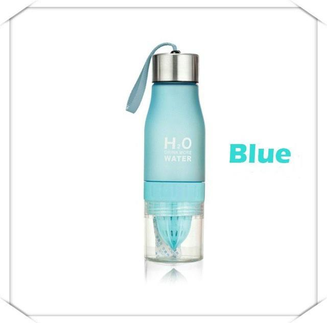 Cheapest and Best Reviews for Eco Friendly Infusion Water Bottle (650ML) 0.65L / Blue at trendingvip.com