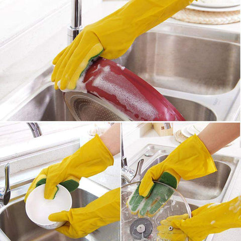 Cheapest and Best Reviews for Dish Washing Sponge Glove  at trendingvip.com