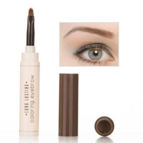 Cheapest and Best Reviews for 2 In 1 Eyebrow Makeup Kit Deep Coffee at trendingvip.com