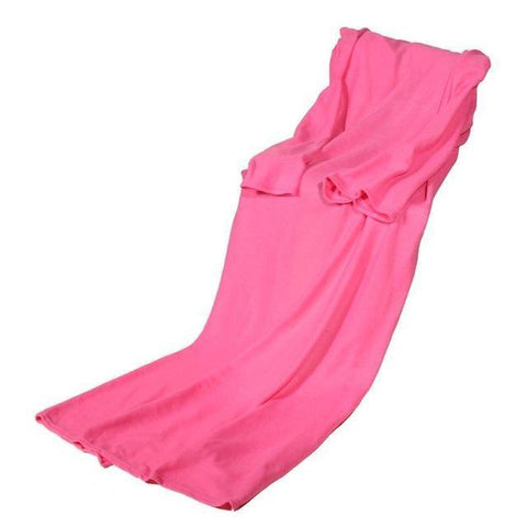 Cheapest and Best Reviews for Blanket with Sleeve Pink at trendingvip.com