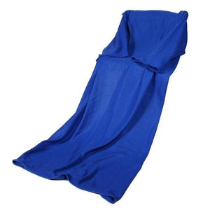 Cheapest and Best Reviews for Blanket with Sleeve Blue at trendingvip.com