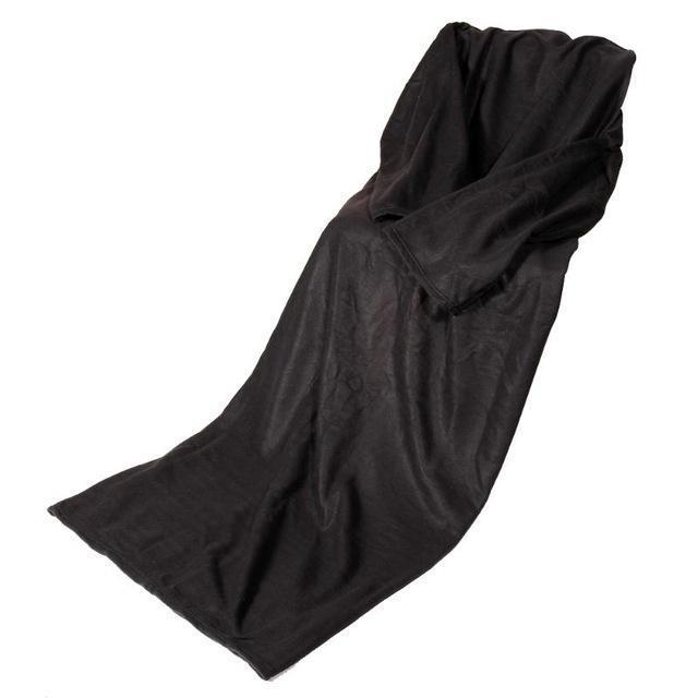 Cheapest and Best Reviews for Blanket with Sleeve Black at trendingvip.com