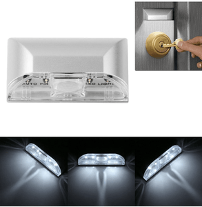 Cheapest and Best Reviews for Auto PIR Keyhole LED Light  at trendingvip.com