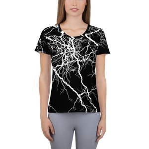 Women's Athletic T-shirt - Thunder