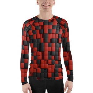 A&F Long Sleeve - Red&Black Quadrants