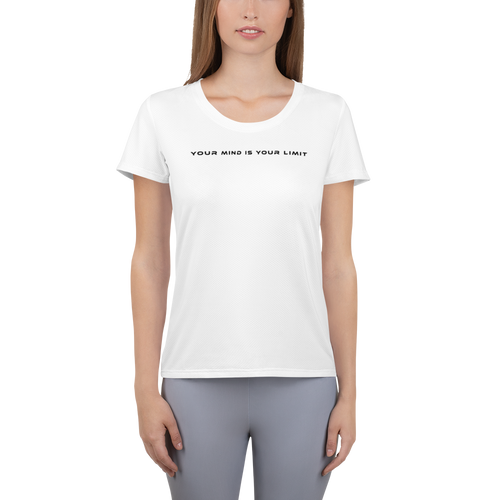 Women's Athletic T-shirt - White