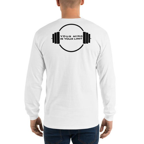 B&W Long Sleeve  - White&Grey