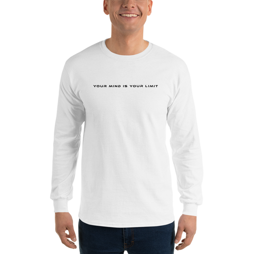 B&W Long Sleeve 2 - White