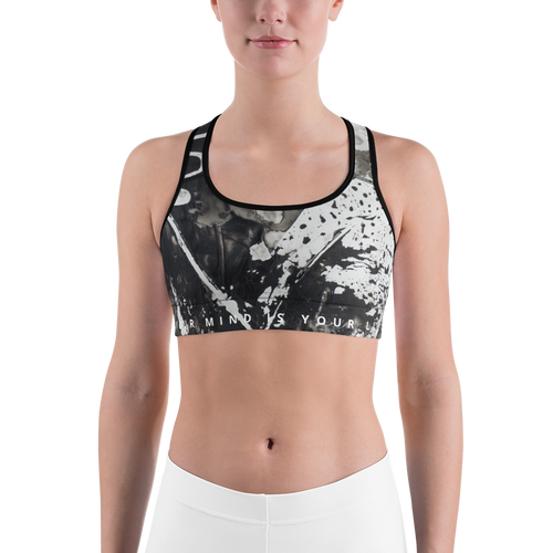 B&W Sports Bra - Dirt