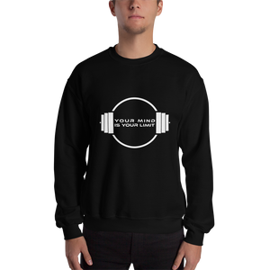 B&W Sweatshirt for Men - Black