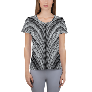 Women's Athletic T-shirt - Wings