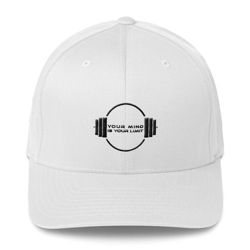 B&W Structured Twill Cap White