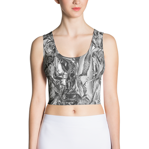 Limited Crop Top - Silver