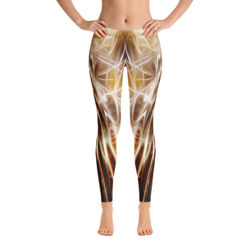 Limited Leggings - Golden Art 1