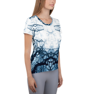 Women's Athletic T-shirt - Tree