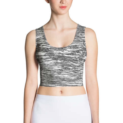 B&W Crop Top - Whisper