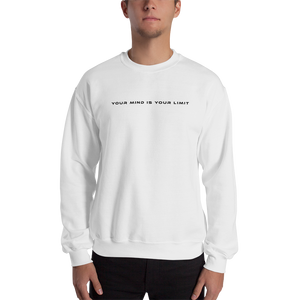 B&W Sweatshirt - White