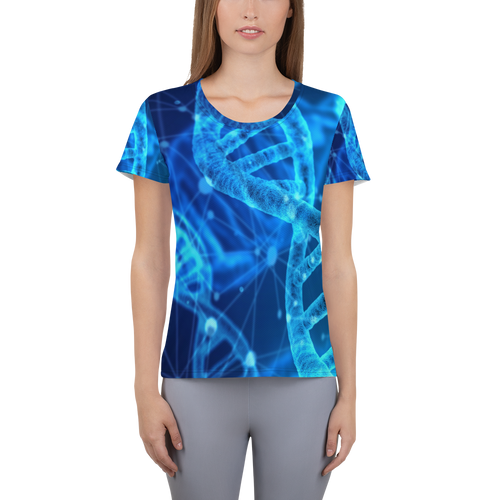 Women's Athletic T-shirt - DNA