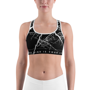 Limited Sports Bra - Thunder Michele