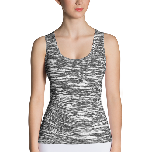 B&W Tank Top - Whisper