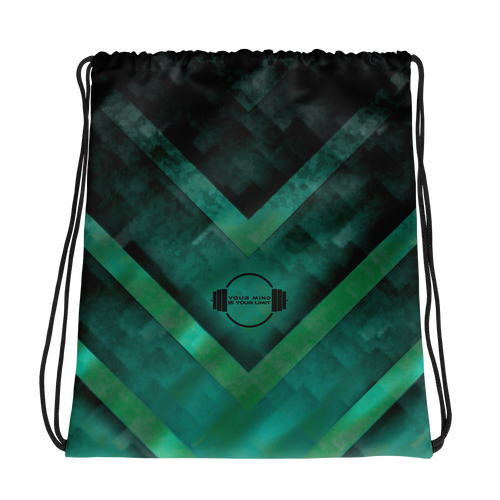 A&F Bag - Green Triangles