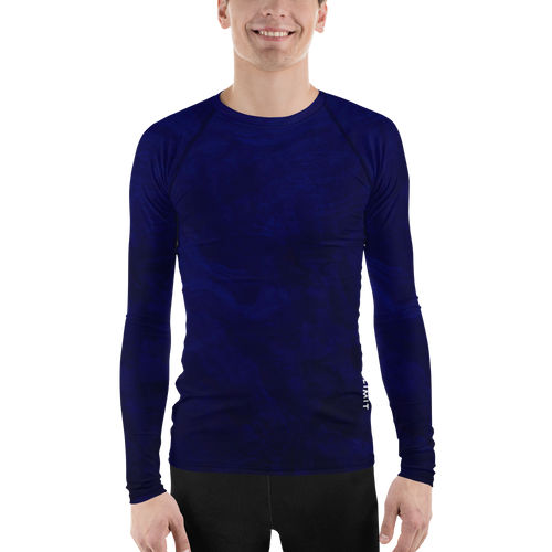 A&F T-Shirt - Long Sleeve Blue Rash