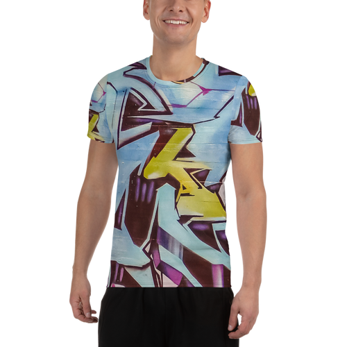 Limited Athletic T-Shirt - Graffiti