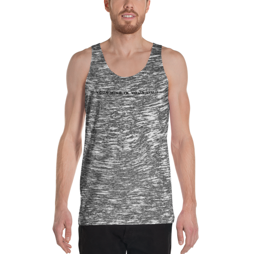 B&W Unisex Tank Top - Whisper
