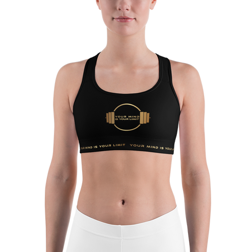 Limited Sports Bra - Gold