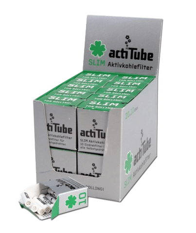 Activated 'Actitube' Carbon Filter Slim - Pack of 10