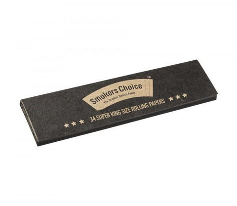 Smokers Choice Rolling Papers Super King Size - Natural - Puff Puff Palace