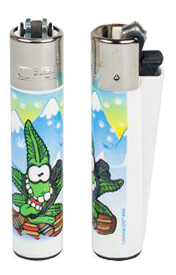 Clipper Snowboarder Lighter - Puff Puff Palace