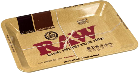 RAW Metal Rolling Tray Large