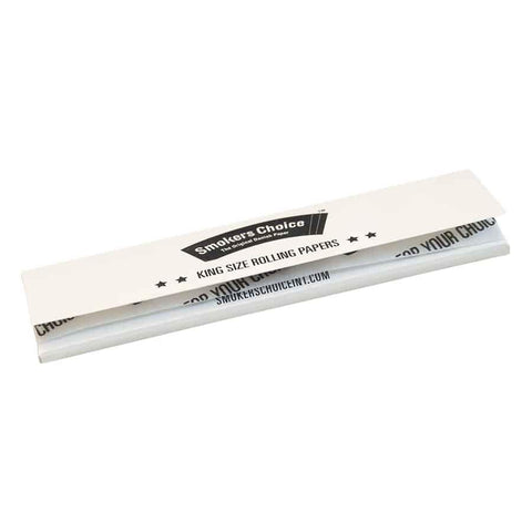 Smokers Choice Rolling Papers King Size - White - Puff Puff Palace