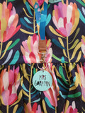 Personlised Teacher Keyring WITH BUBBLEGUM LANYARD