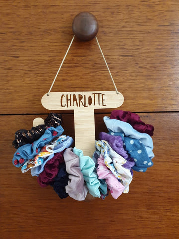 Personalised Scrunchie Holder