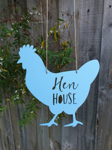 Chicken Hen House Sign - Little Birdy Finds