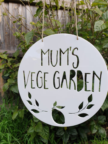 Personalised Vegetable Garden LEMON or APPLE DESIGN - Little Birdy Finds