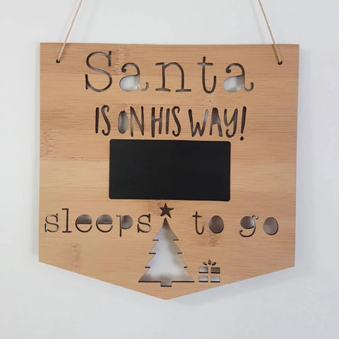 Santa is On His Way! Sleeps to go - Little Birdy Finds