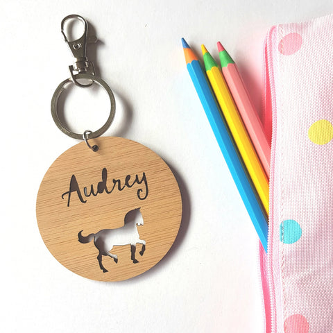 Horse Pony-Bag Tag - Little Birdy Finds