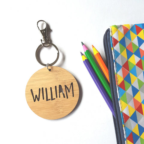 Bag Tag / Keyring  William Font - Little Birdy Finds
