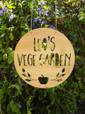 Personalised Vegetable Garden APPLE design - Little Birdy Finds