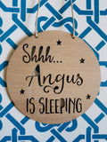 Shhh Baby is Sleeping Personalised - Little Birdy Finds