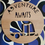 Adventure Awaits Caravan Wall Hanging - Little Birdy Finds
