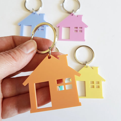 House Keyring - Little Birdy Finds