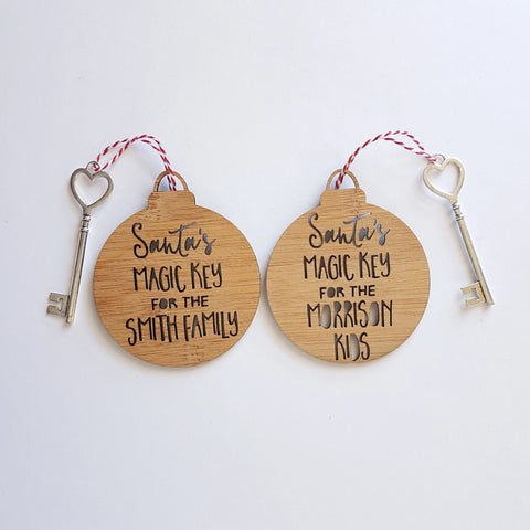 Personalised Santas Magic Key - Little Birdy Finds