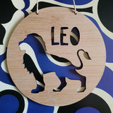 LION Personalised Wall Hanging - Little Birdy Finds