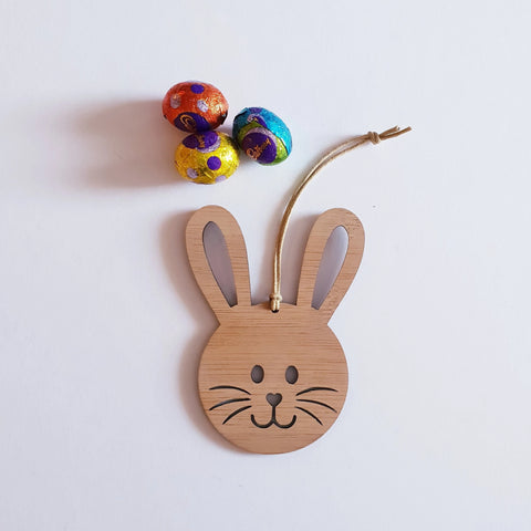 Easter bunny Basket Tag - Little Birdy Finds