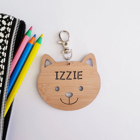 CAT/KITTEN Bag Tag / Keyring - Little Birdy Finds